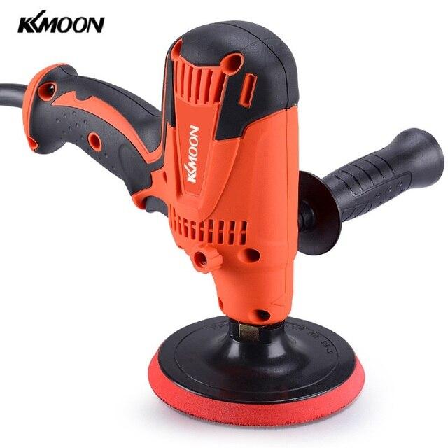 KKmoon pulidor eléctrico de coche de velocidad ajustable, máquina de encerado, herramienta de pulido de muebles de automóvil, pulidor eléctrico, herramienta para encerar