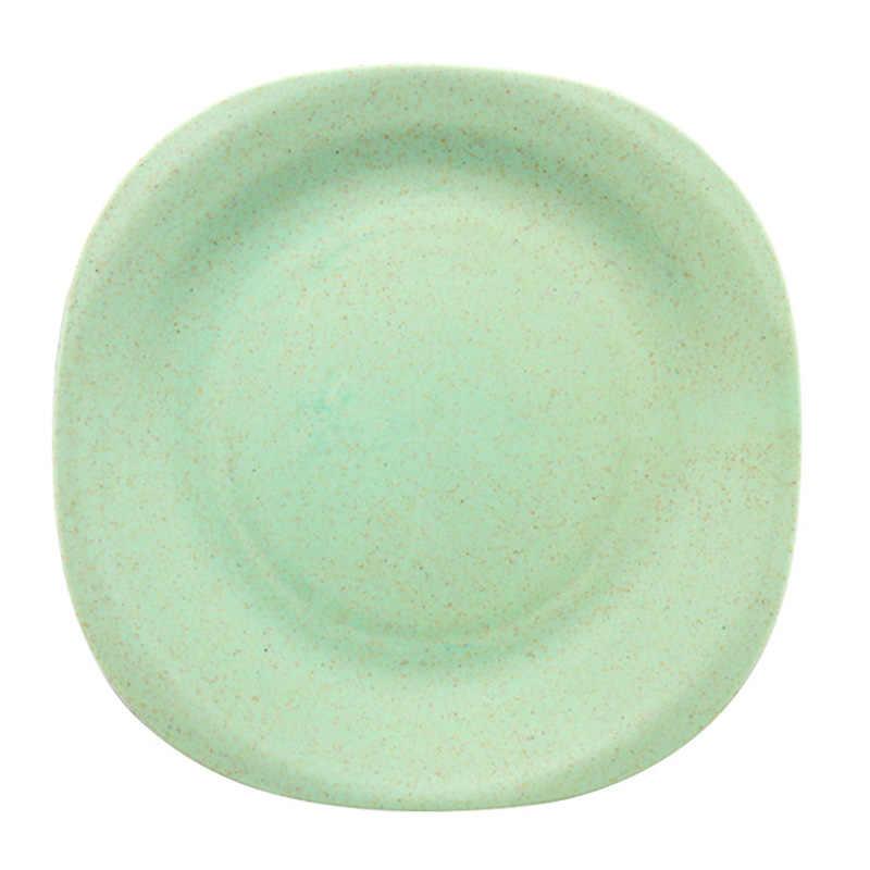 Yếm Ăn Cho Bé Rơm Lúa Mì Đĩa Nhỏ Màu Trơn Trẻ Em Ăn Đồ Ăn Trẻ Em Môi Trường Món Ăn Khỏe Mạnh Bộ Đồ Ăn MBG0514