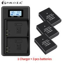 PALO EN-EL14 EN-EL14A ENEL14 Battery for Nikon D3100 D3200 D3300 D3400 D3500 D5600 D5100 D5200 P7000+LCD Dual EN-EL14 Charger