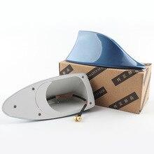 Автомобильная антенна крыша акульих плавников антенна универсальная для BMW KIA HYUNDAI RENAULT TOYOTA автомобильное радио для стайлинга сигнальные антенны на крышу