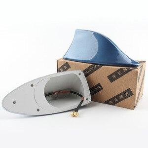 Image 5 - Auto Shark Fin Signal Antennen Antenne Universal Für Lada Vesta Granta Für Kia Rio Auto Styling Radio Signal Antennen Dach antennen