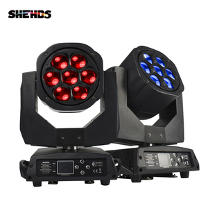 Image 1 - New Big Bee Eye 7x15W LED moving head zoom function DMX 512 Wash Lights RGBW 4IN1  Beam effect light party/bar/DJ/stage Lighting