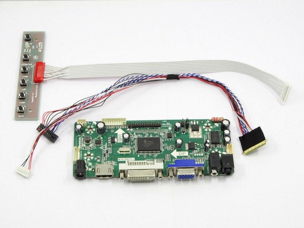 Latumab New HDMI+DVI+VGA+Audio LCD Controller Board Driver Kit For N173FGE-L23 1600X900  Free Shipping