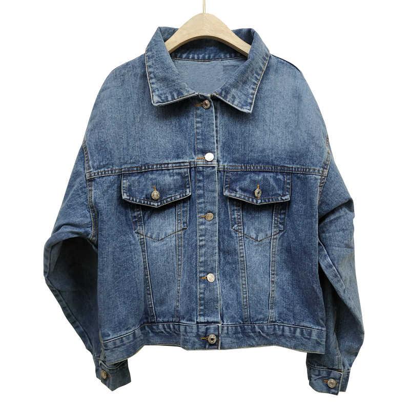 Jaqueta feminina primavera boho denim para mulher apliques florais bordados vintage casaco de manga longa outerwear jaqueta feminina coatee