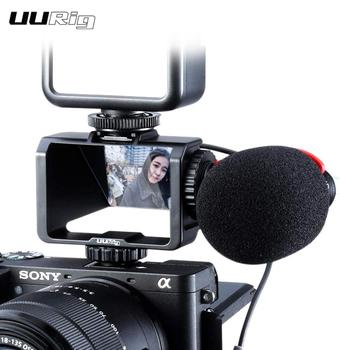UURig Camera Vlog Selfie Flip Screen Bracket for Mirrorless Periscope for Sony A6000 A6300 A6500 A72 A73 A7R3 A7m3 A7S A7r ii