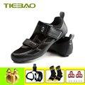 Tiebao Fietsschoenen road sapatilha ciclismo 2019 mannen zelfsluitende ademend fiets superstar rijden Atletische sneakers