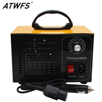 ATWFS Generator ozonu 12v 28g samochód Ozonator oczyszczacz powietrza Ozonator maszyna Ozon Generator z przełącznik czasowy tanie i dobre opinie 50m³ h CN (pochodzenie) 110 w 12 v 21-30㎡ Przenośne 99 99 Zasilanie pojazdu 99 97 ≤30dB Bez jonizatora 10-20m ³