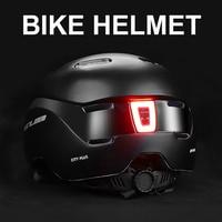 NEWBOLER LED Licht Fahrrad Helm Stadt Radfahren Für Mann Frauen Erwachsene Fahrrad Helm Aufladbare Downhill MTB Rennrad Roller Helm