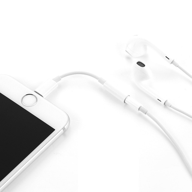 Lighting to 3.5mm Jack AUX Audio Adapter for iPhone 7 8 Plus X XR XS 11 Pro Max Earphone Converter Music Connector Adaptor Cable 4