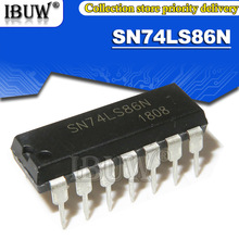 10PCS SN74lS86N DIP14 SN74lS86 74lS86N 74lS86 DIP Integrated IC