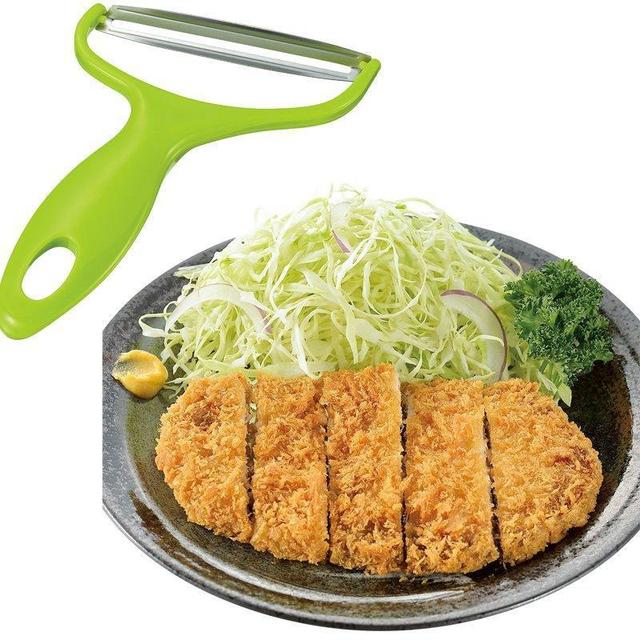 Cooking Tools Wide Mouth Peeler Vegetables Fruit Stainless Steel Knife Cabbage Graters Salad Potato Slicer Kitchen Accessories 2