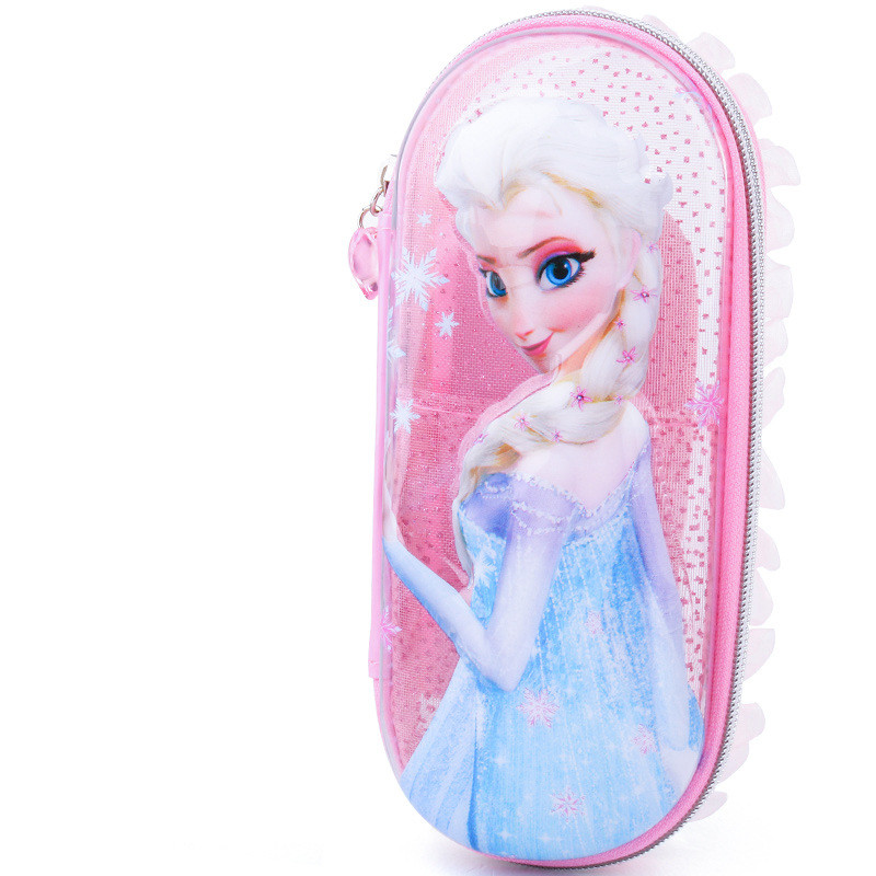 Frozen Cute Stationery Pencil Case Disney Multi Functional Student