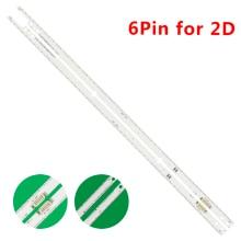 Striscia 56/60leds della lampadina di 572mm LED per la TV a 46 pollici di Samsung TV 20202012svs46 7032NNB 2D BN96 21463A