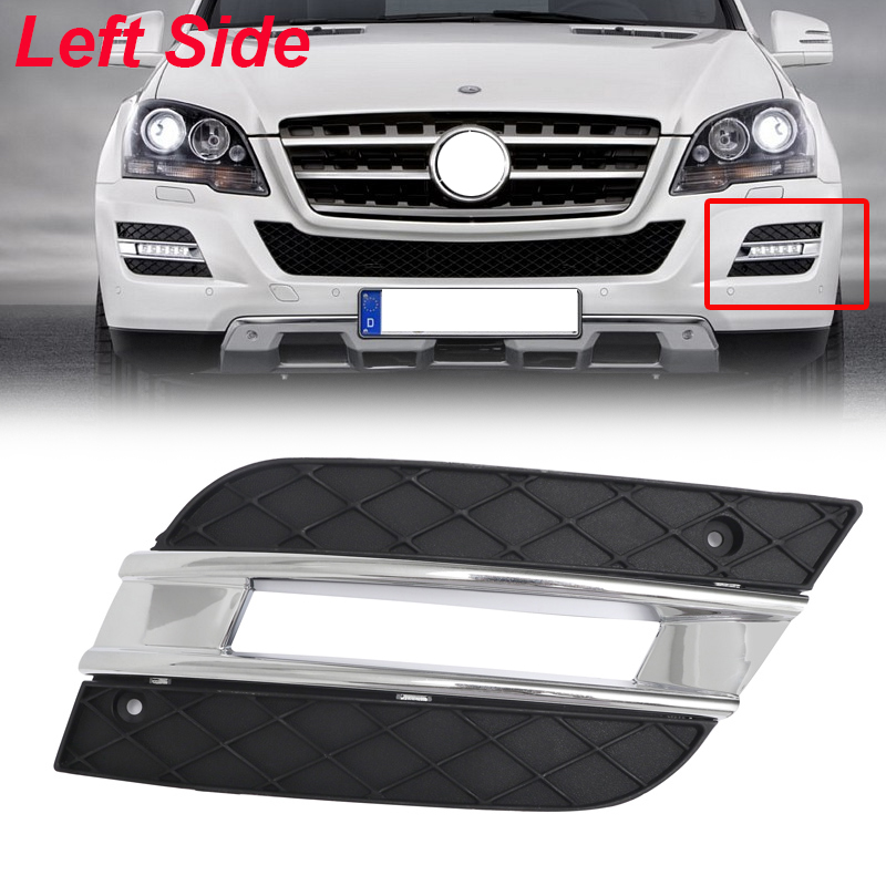Grills/Air Intakes W164 New DRL Light Cover Front Bumper Grille ...