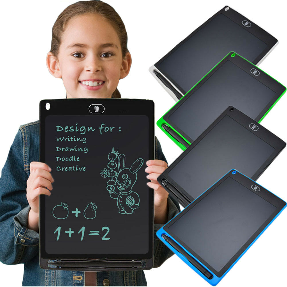 Digital Drawing Board Pad Notepad for Kids Drawing Teaching Graphic Tablet Pad for Kids-2 8.5 LCD Electronic Writing Tablet