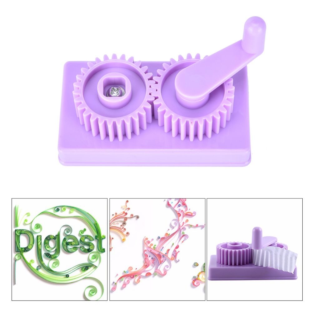 NEW Plastic Paper Quilling Crimper Machine Crimping paper Craft Quilled DIY Art Tool Papercraft Scrapbooking Stamping Wholesale