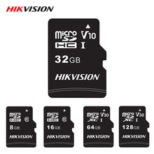 Hikvision Memory Card Microsd Class 10 Micro SD Card 32GB 64GB 128GB 16GB 8GB High Speed TF Card for Android Tablet Camera