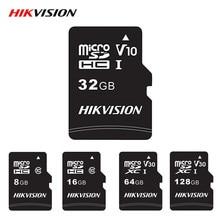 Hikvision – carte mémoire Micro SD de classe 10, 8 go/32 go/64 go/128 go/16 go, TF, haute vitesse, pour tablette Android et appareil photo