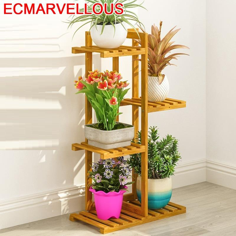 Ladder Garden Shelves For Shelf Mueble Estante Repisa Para Plantas Outdoor Flower Rack Stojak Na Kwiaty Dekoration Plant Stand
