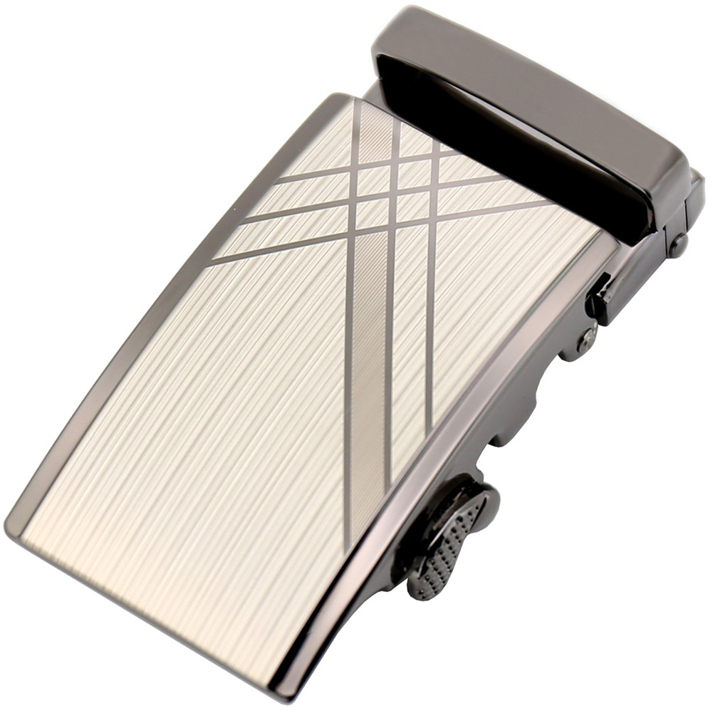 Zinc Alloy Pants 3.6cm Width Anti Scratch Durable Fashion Casual Rust Proof Simple Automatic Slide Daily Use Men Belt Buckles