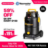 Vacmaster limpiador multifuncional aspiradora 4 en 1 champú a Control remoto aspiradora para alfombras 1300W 30L aspiradora de cubo