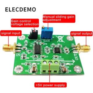 Image 2 - VCA821 モジュール調整可能な利得アンプ THS3201 200 メートル帯域幅 40dB 利得出力負荷