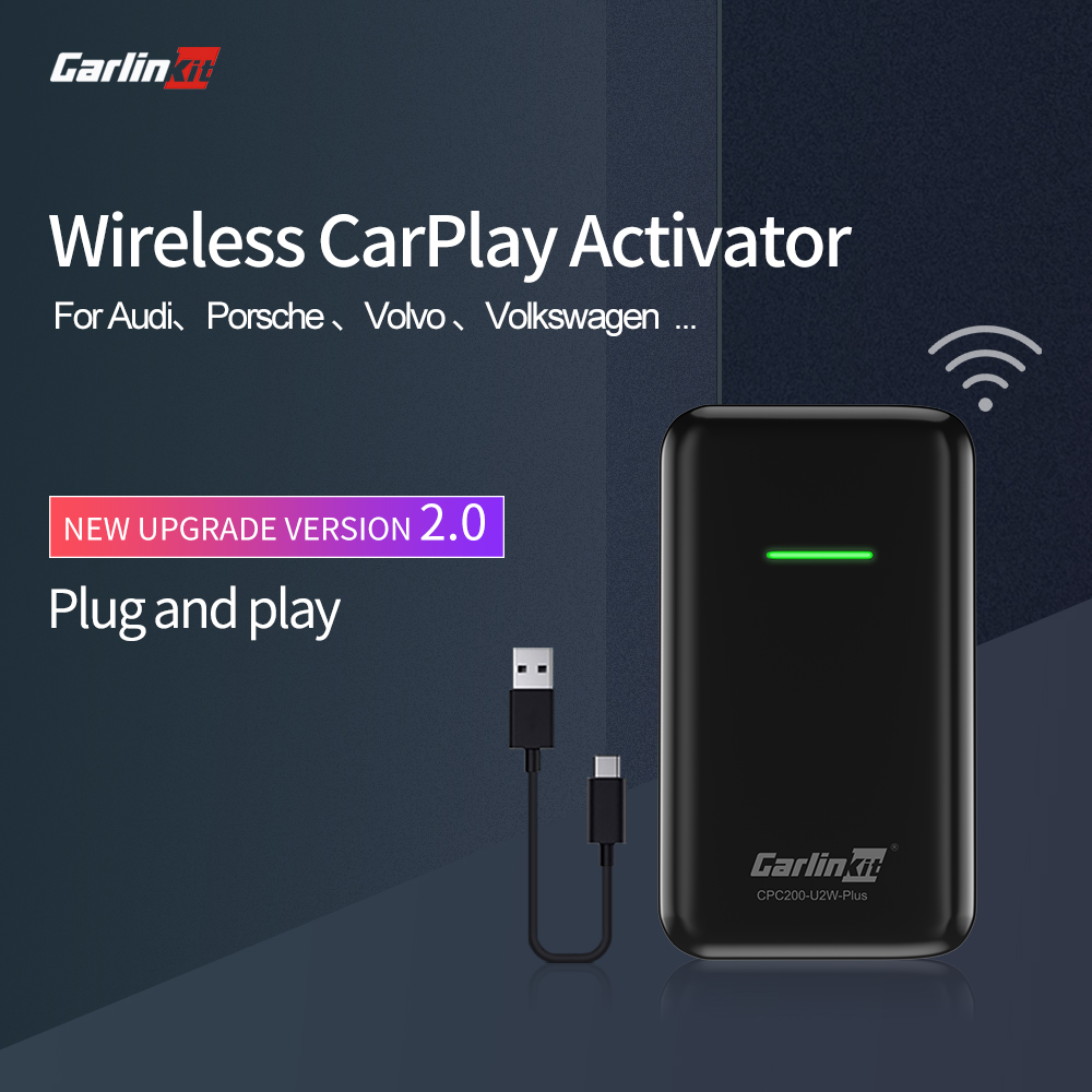 Carlinkit CarPlay беспроводной активатор Авто подключение для Audi Porsche Wolkswagen Volvo оригинальный автомобиль с CarPlay беспроводной Carplay