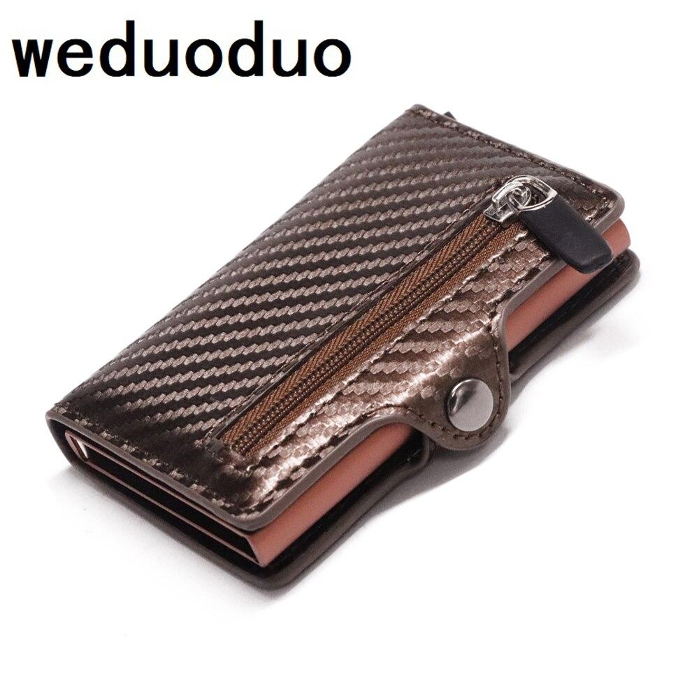 Metal Anti Rfid Wallet Credit id Card Holder Men Women Business Cardholder Cash Card Pocket Case Passes creditcard holder