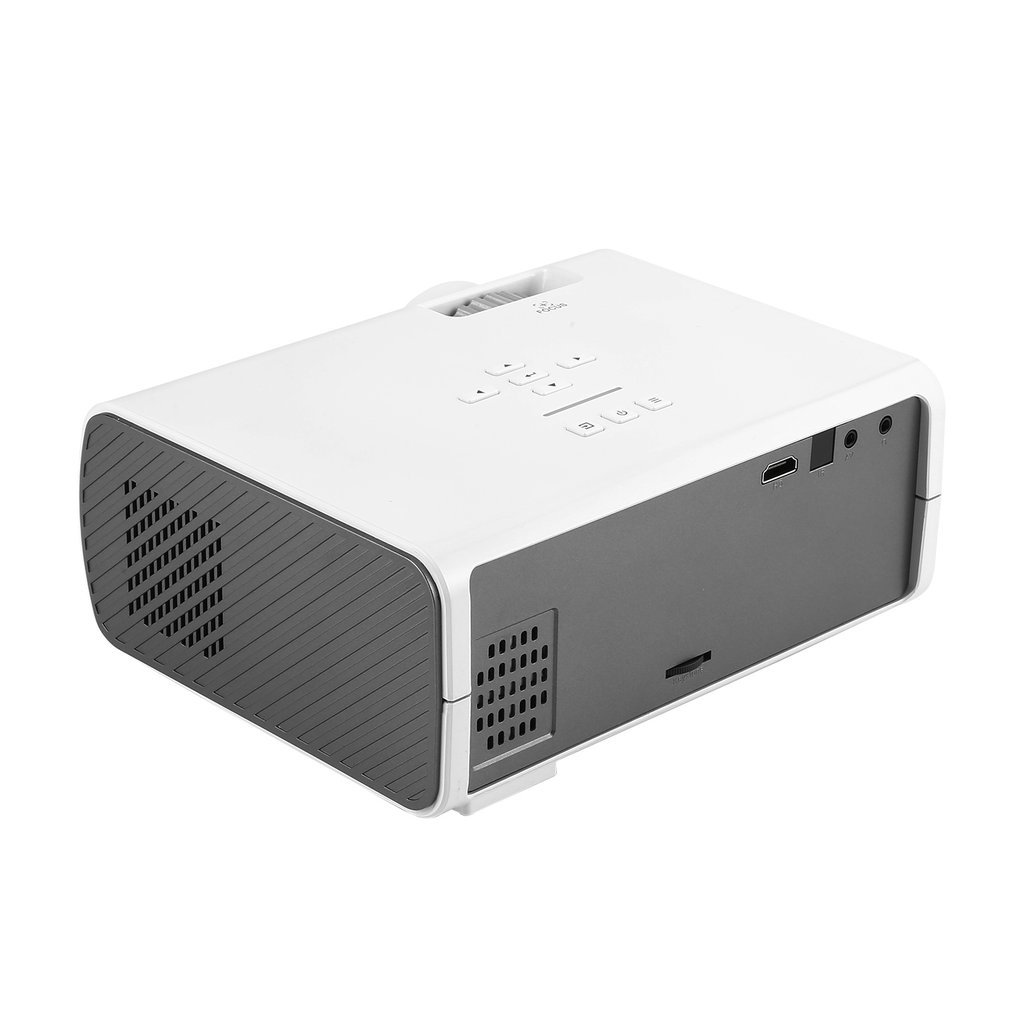 Multifunctional Portable Home Video Projector Micro LED Projector for Home Multimedia Theater BL45 US Plug