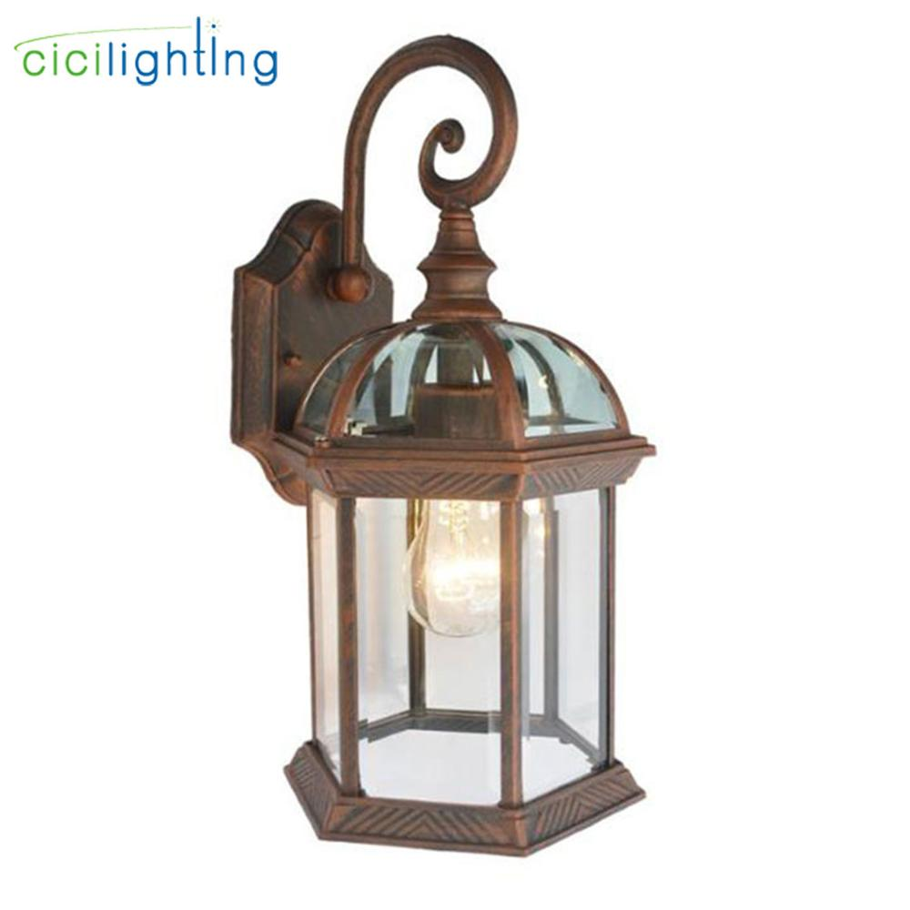 Wall Lamp Antique Outdoor Garden Lamps