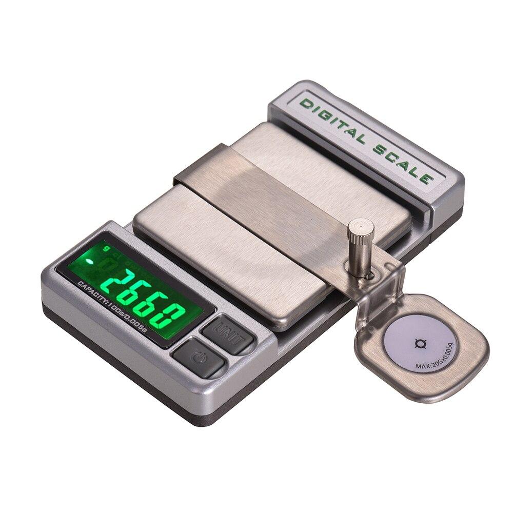 Nouveau plateau tournant de précision Phono LP stylet Force Balance numérique manomètre Balance électronique mécanis 0.005g précision 5 chiffres