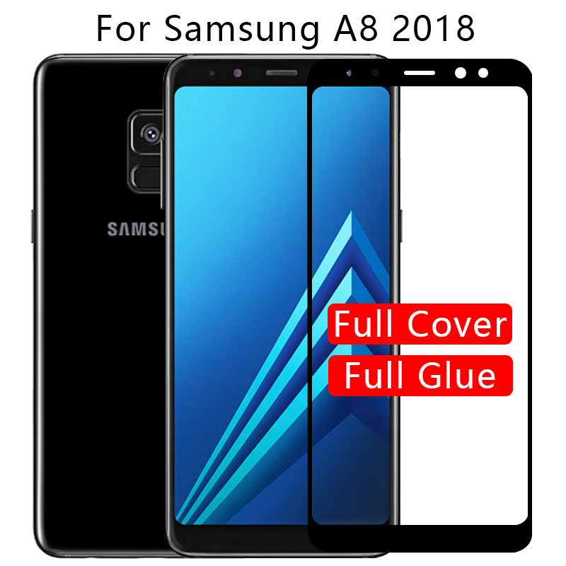 Protective Glass For Samsung A8 2018 Screen Protector Tempered Glas On Galaxy A 8 8a A82018 Phone Film 5.6 Samsun Samsunga8 A530