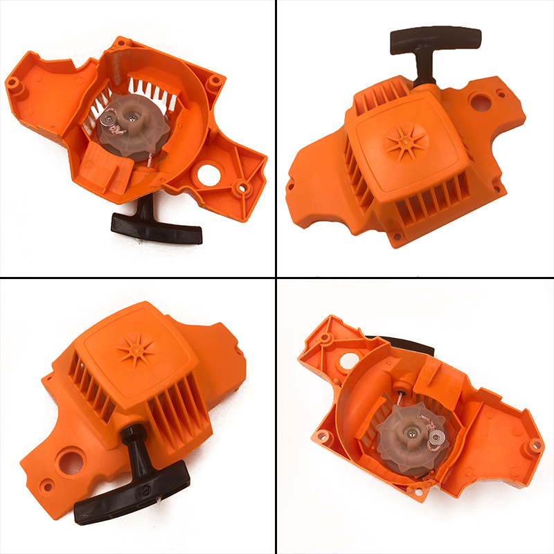 1pc Chainsaw Starter For McCulloch Mac Cat 335, 338, 435, 440, Partner 350, 351 Chainsaw Spare Parts Pull Recoil Starter