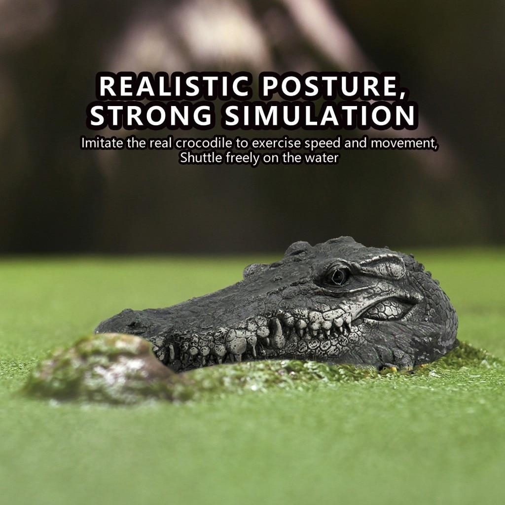 cabeca de crocodilo rc controle remoto eletrico 05