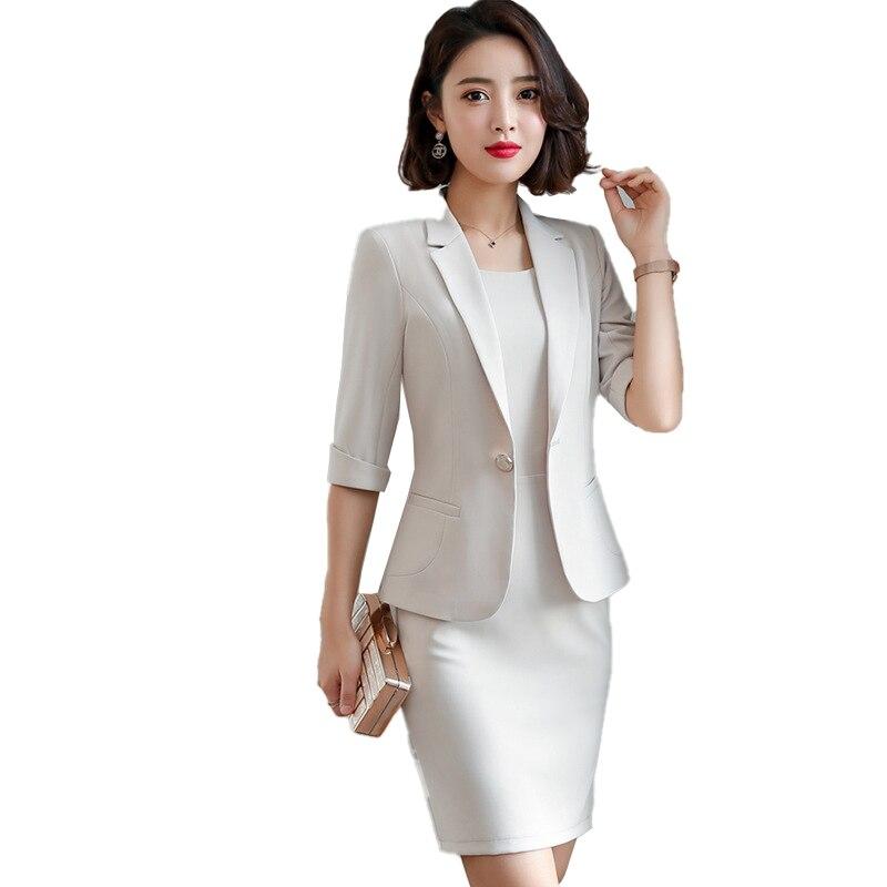 3585.36руб. 5% СКИДКА|S 5XL, формальное платье, Блейзер, женские платья с курткой, женский костюм, костюм, офисная одежда, для работы, для дам, вечерние элегантные костюмы|Вечерние костюмы| |  - AliExpress