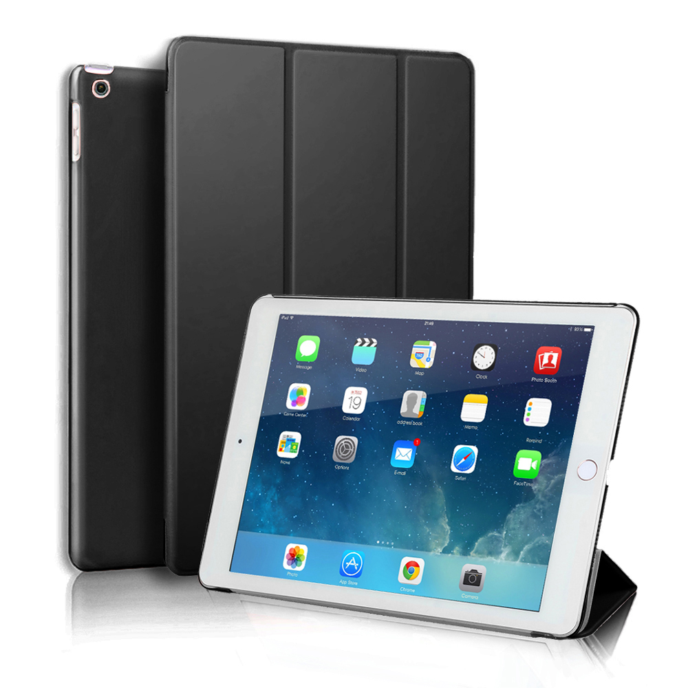 Ultrathin Smart Cover for iPad 2/3/4 9.7 A1395 A1396 A1397 A1416 A1430 A1403 A1458 A1459 A1460 Magnetic Stand Case image