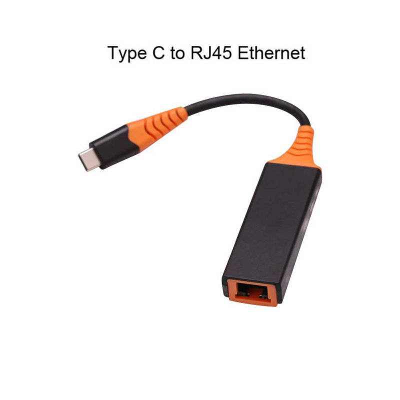 USB C To 1Gbps Ethernet Adapter, USB Thunderbolt 3/Type-C To RJ45 Gigabit LAN Network Cable For MacBook Pro 2019/2018/2017