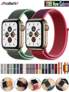 Band Replacement-Strap Watch-Series Sport-Loop Apple 42MM 44MM 40MM Nylon for 3/2/1-38mm