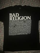 Rare Bad Religion Camicia. black Flag/Cerchio Scatti/Sociale Distorsione/Nofx/Pennywise casual T Shirt A Manica Corta Della Novità(China)