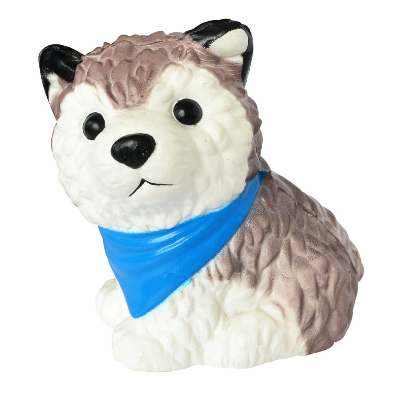 Random Color Jumbo Simulation Dog Squishy Scented Soft PU Slow Rising Stress Relief Toy Kids Grownups Squeeze Toys 12*9 CM