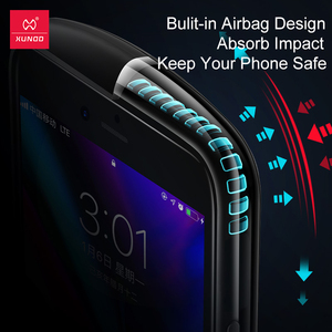 Image 2 - Funda protectora para iPhone SE 2020, Xundd, funda de silicona para iPhone SE2 SE, carcasa a prueba de golpes, funda ajustada transparente