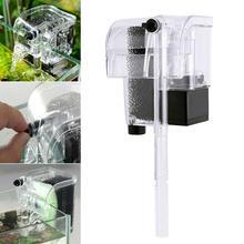 3 Вт подвесной внешний фильтр для аквариума циркуляционный насос для воды кислорода 3 в 1 Мини аквариумный водопад фильтр насос для аквариума A40
