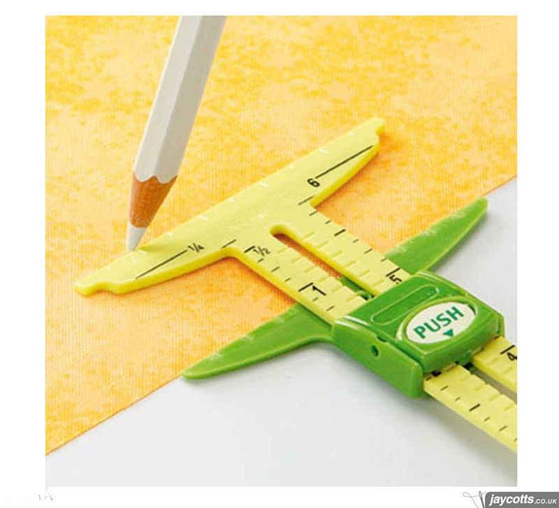 5-IN-1 เครื่องวัดด้วยNANCY ZIEMANวัดเครื่องมือ (2 ขนาดสามารถ)