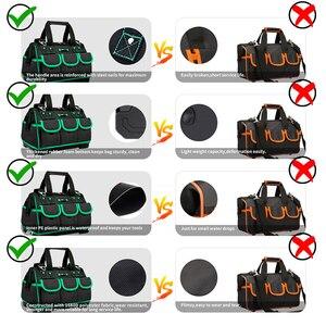 Image 3 - Многофункциональная сумка AIRAJ, AIRAJ складная холщовая сумка для инструментов для ремонта