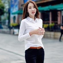 2020 NEW autumn new shirt shirt female long-sleeved t-shirt Korean version of the bottoming shirt large size women #8217 s clothing tanie tanio COTTON Krótki REGULAR Suknem Stałe NONE Na co dzień O-neck