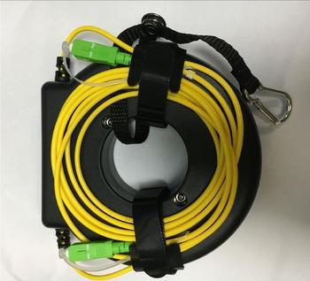 OTDR Launch Cable Fiber Rings Singlemode 652D 9/125um 1km FC/SC/LC/ST UPC/APC Connector