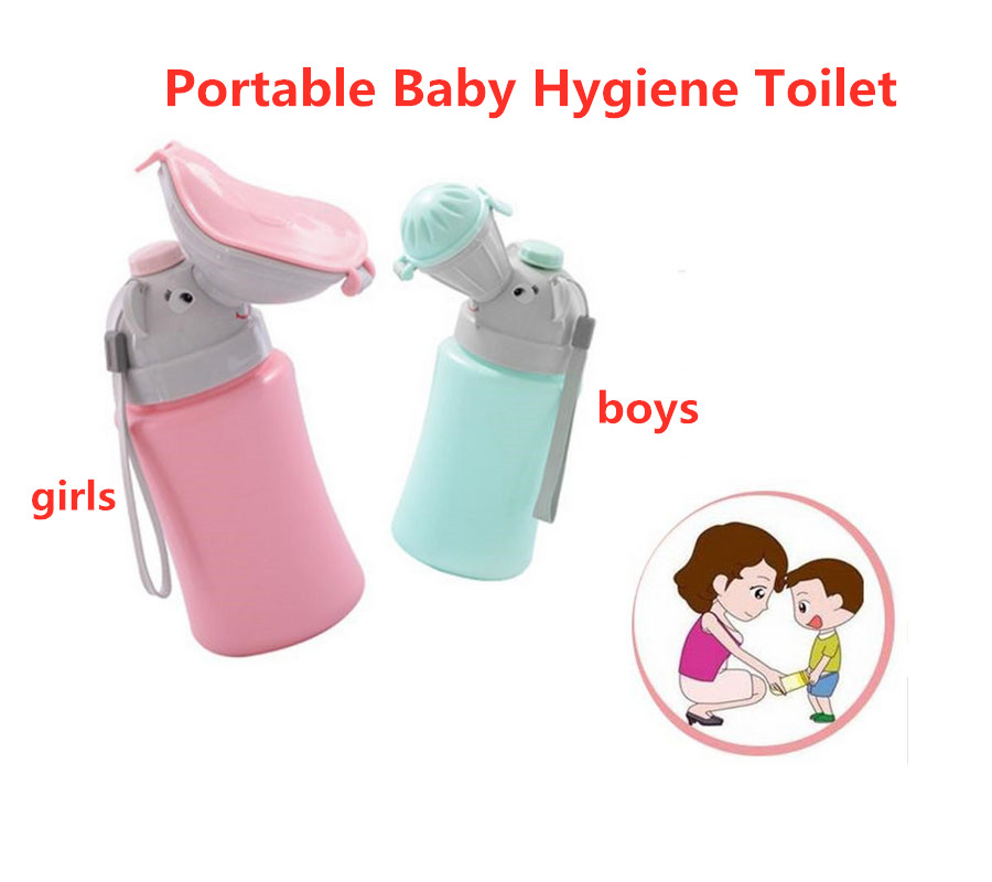 Baby Hygiene Toilet Urinal Portable Boys Girls Pot Car Travel Anti-leakage Potty Kids Convenient ChildrenToilet Training Potty