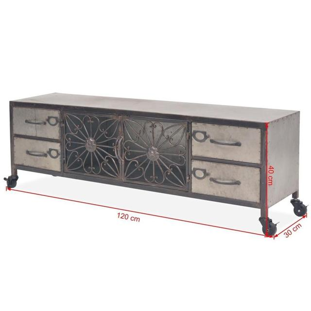 Modern LED TV Stand Cabinet  6