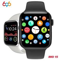 W68 smart watch Men IP67 waterproof Series 5 1.54 Inch Full Touch Fitness Tracker Heart Rate VS W58 Iwo 12 sport band smartwatch