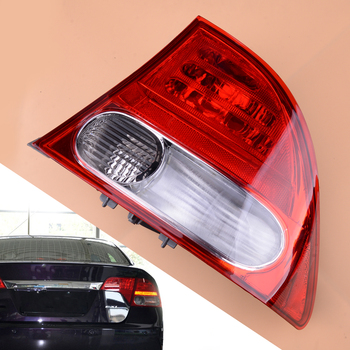 Right Side Outer Rear Tail Light Lamp Car ABS Fit For Honda Civic Sedan 2009 2010 2011